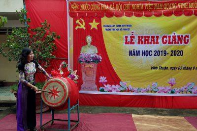Lễ khai giảng năm học mới 2019-2020 tại Trường Tiểu học Võ Văn Kiệt